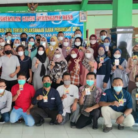 Pembekalan 40 Calon Peserta Ujian Perangkat Desa Kauman