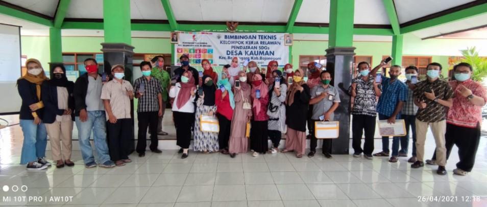 Bimtek Kelompok Kerja Relawan SDGs Desa Kauman